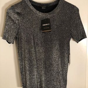 Sparkly fitted top